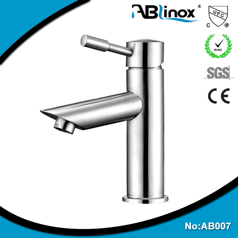 single hole stainless steel instantaneous water heater faucet mount
