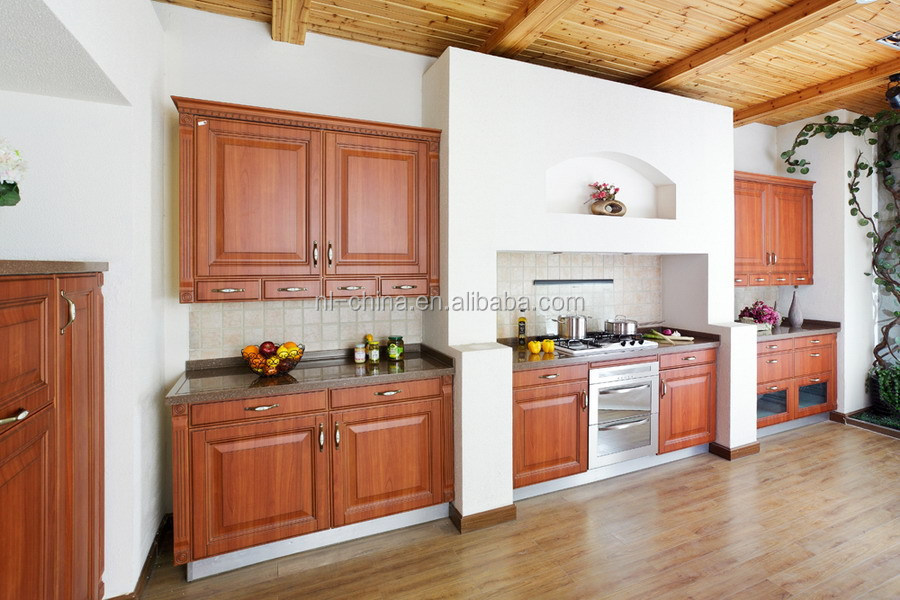 PVC Molded Customized Kitchen Cabinet/ kitchen furniture with Free Sample Board