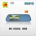 Car 5 inch rear view mirror with DVR recorder BY-10350 DVR