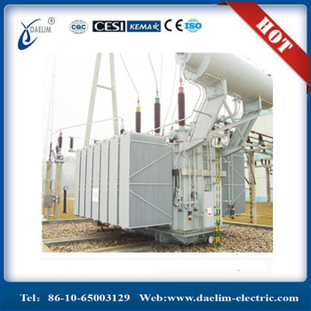 Low Loss 110/20kv 140mva power transformer with NLTC from China