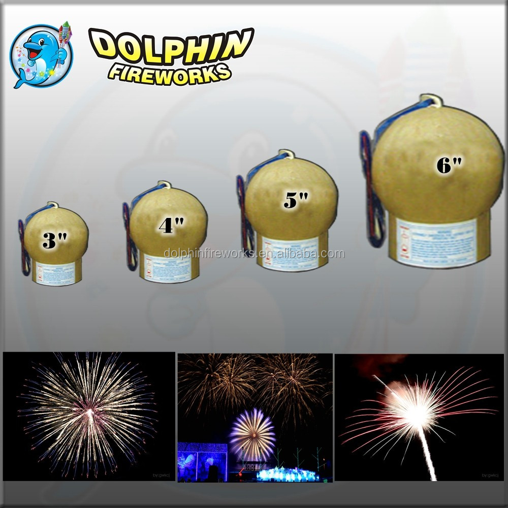5 inch 1.4g un0336 fireworks shells for sale