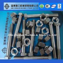 High precision stainless steel nut bolt manufacturing process