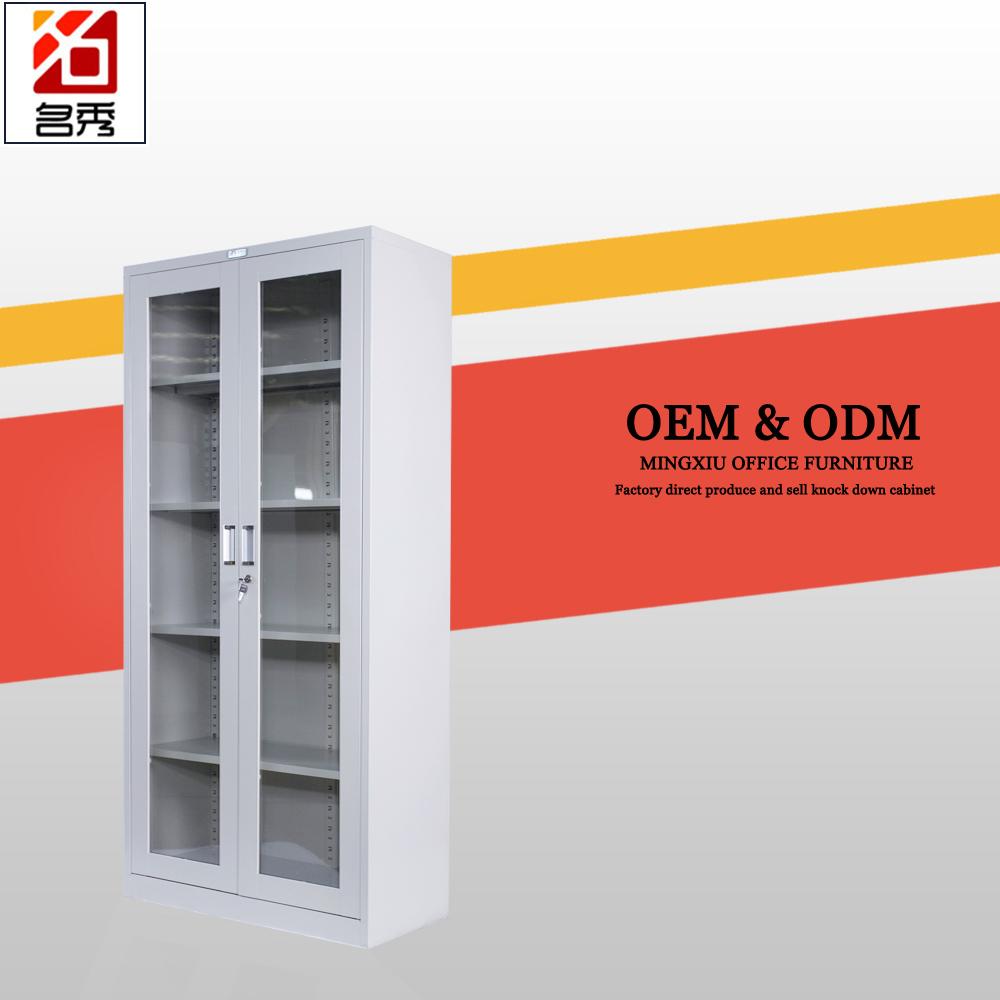 Steel cabinet doors