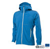 Mens 3 Layers Bonded Windproof Softshell Jacket Blue