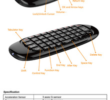 Air Mouse, Wireless Keyboard, 3D Somatic handle. PC-100