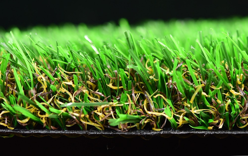 natural Artificial turf synthetic turf 4 tone