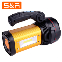 Multifunctional COB LED Rechargeable Powerful Explosion Proof Hand Lamp With Power Bank Function