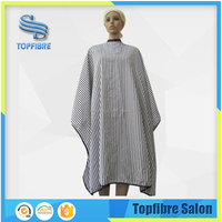 Fashion designed E10521 Soft Printed Polyester Hairdressing Cape