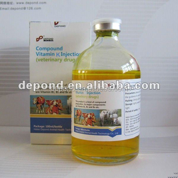 vitamin k injection of poultry