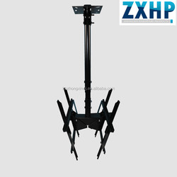 Metal Flip Down Double Side TV Ceiling Mount 400 and 600 compatible