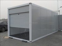16'&8' galvanized steel frame portable STORAGE container/mobile storage unit/portable building manufacturer in china
