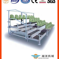 Scaffolding Retractable Grandstand Seating System For