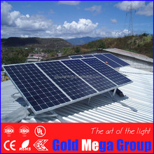 IP67 rated 20 year warranty 130w photovoltaic monocrystalline silicon solar panel solar cell module