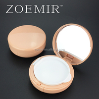 New product removable round plastic BB cream air cushion case makeup packaging container