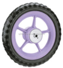12 inch plastic EVA foam filled baby stroller wheel