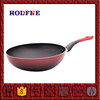 China Factory Directly Sale Customized nonstick wok with two side handles