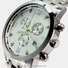 Hot-selling good price watch quartz stainless steel watch from PSW watch factory