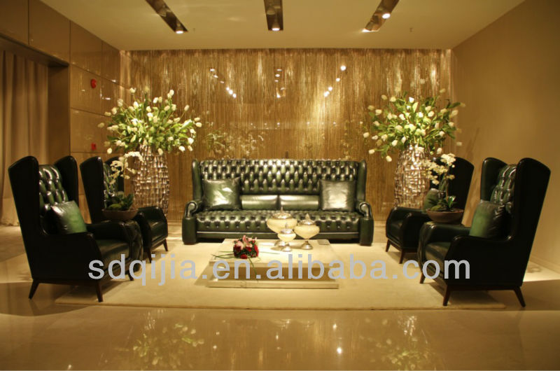 Luxury High Back Leather Chesterfield Sofa Set Living Room Furniture Buy Leather Sofa Leather