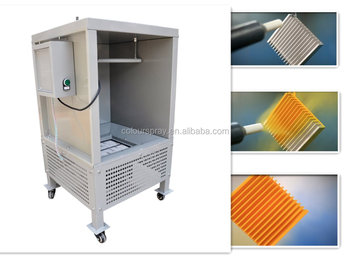 Electrostatic Portable Powder Coating Spray Room