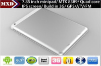 Shenzhen China Factory cheap tablet pc built in 3g 7.85inch 1GB+8GB Super Slim Metal Cover