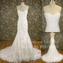 Off Shoulder Mermaid Wedding Dress And Fashion Real Bridal Gowns With Best Price