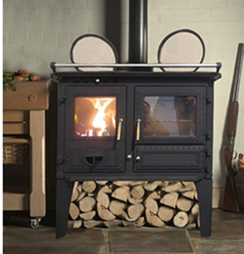 Unique desion cast iron wood stove oven , wood burning stove