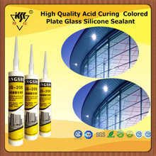 High Quality Acid Curing Colored Plate Glass Silicone Sealant