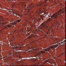 HS617GN broken bright red color ceramic marble floor tiles