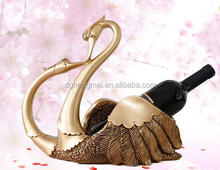 lovely swan animal wine bottle holders