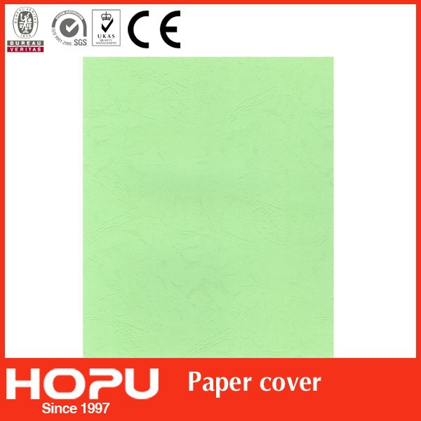 High quality paper cover/good price book binding cover/leather board cover