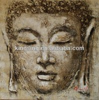Wholesale Modern Quality Guaranteed Buddha Face Painting