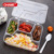 lunch box Disposable compartment plastic food containers