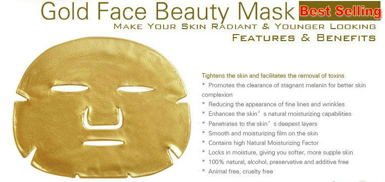 Cosmetics OEM Beauty Products Gold Collagen Face Body Mask