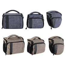 guangzhou custom Grey Compact Camera Shoulder Bag for SLR/DSLR with Waterproof Rain Cover