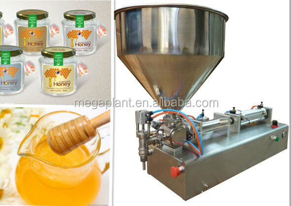 stainless steel semi-automatical manual Honey packaging machine