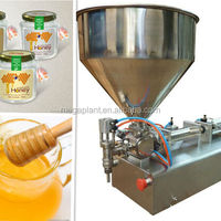 Stainless Steel Semi Automatical Manual Honey
