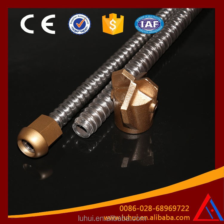 Self Drill Hollow Mining Drilling Alloy Bit Tunnel Thread Anchor Bolt