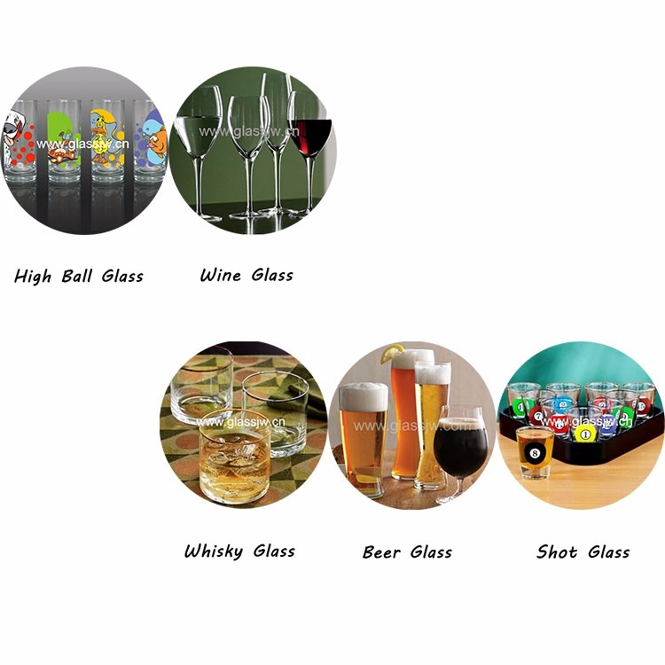 Wholesale Round Cylinder Whiskey Glass Whiskey Glasses Tumbler