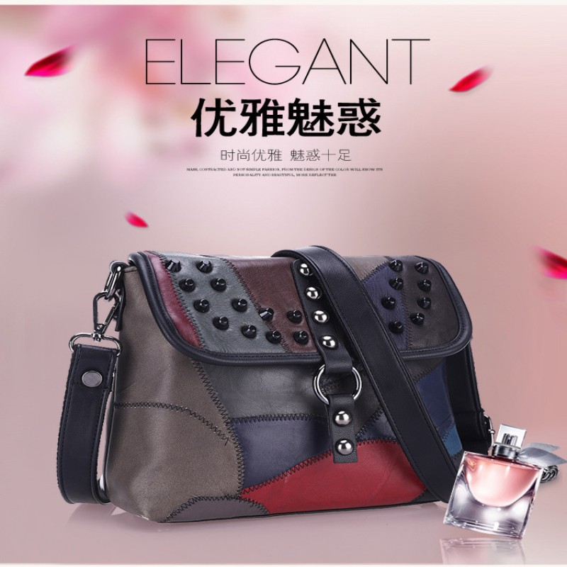 no brand real leather handbags custom noble cow nubuck leather hand bag