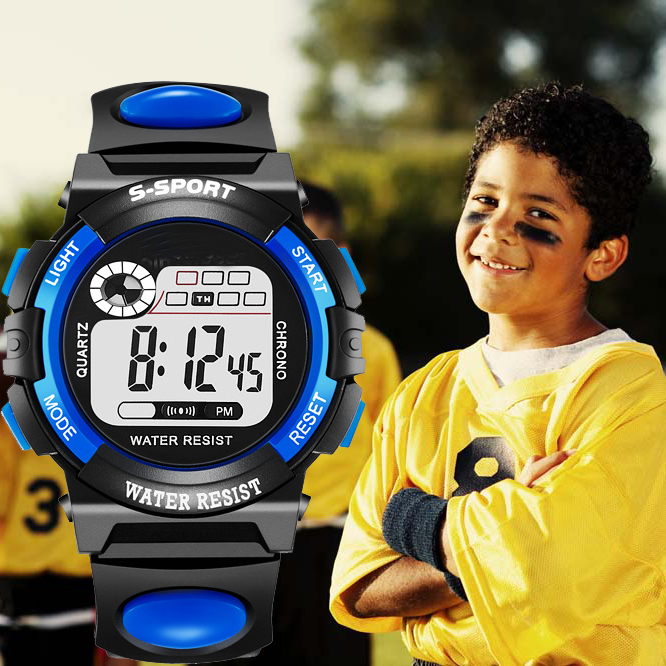 Wholesale Sport Student Children Watch Kids Watches Clock Digital Wristwatch Electronic for Boy Girl Reloj