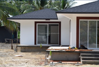 Construction & real estate - fast building modern concise hotel/ prefab beach house