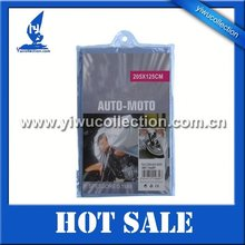 polyester with PVC motorcycle raincoat