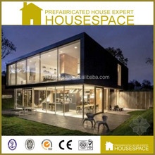 Cost Effective Shockproof Durable Glass Modular Homes