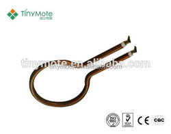electric copper water heater tubing with anodes carrier