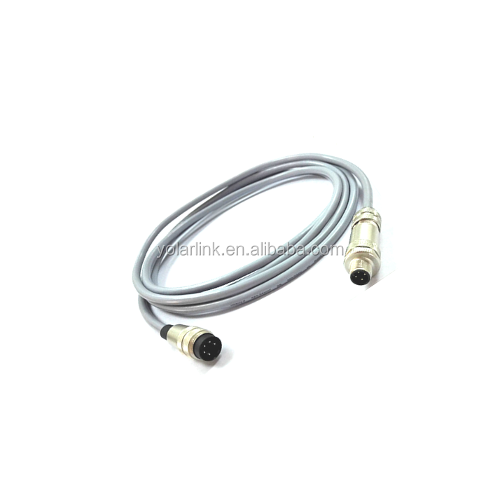 m12 ip65 waterproof 4 pin connector online shop china