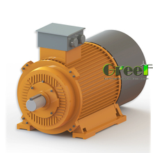600KW 500RPM magnetic generator, 3 phase ac permanent magnetic generator, wind water use with low rpm
