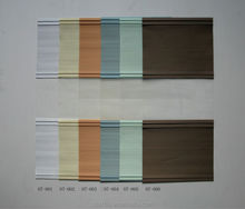 restaurant shutters blind zebra fabric many color for choice good price G07