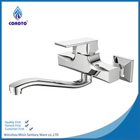 New Arrival Environment Friendly Wall Mounted Kitchen Mixer Taps