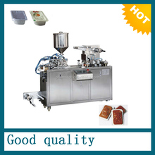 PLC controlled honey blister packing machine, butter packing machine, chocolate jam packing machine