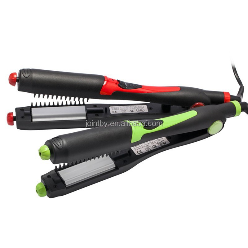 4 in 1 Function low price hair straightener with curler